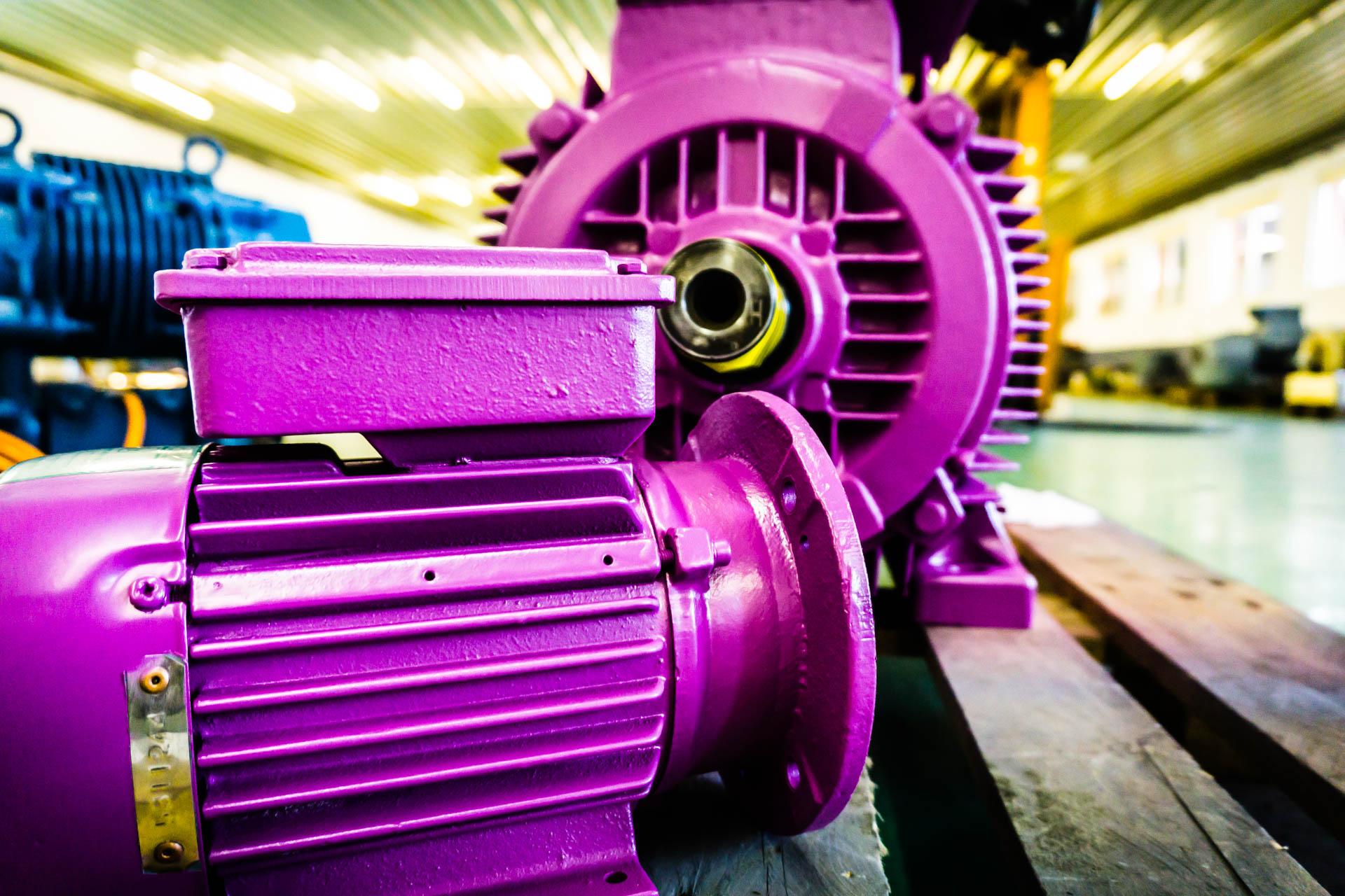 Motor Ral Farbe
